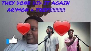 24K Magic,That's What I Like,Privacy,Shape Of You, Shining, Sneakin -Ar'mon And Trey MASHUP-Reaction
