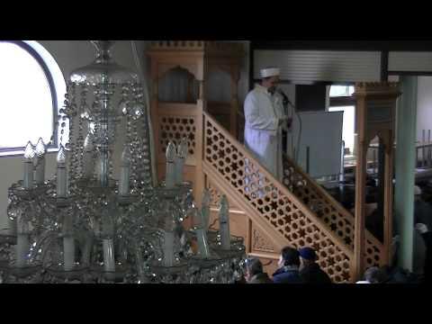 MAASMECHELEN TEVHID CAMII CUMA HUTBESI 01.03.2013 (CENNET EHLI CEHENNEM EHLI)