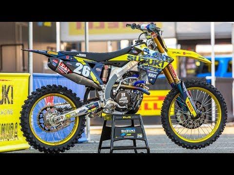 Inside Alex Martin's Factory JGR/Suzuki RMZ250 - Motocross Action Magazine