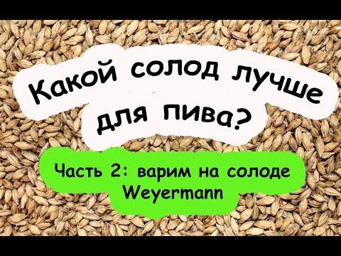 Солод Weyermann против Курского | Варим на Ваермане! photo