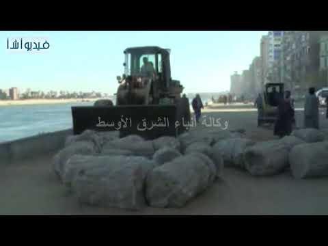 بالفيديو : محافظ سوهاج يتفقد أعمال تطوير وتوسعة كورنيش النيل الغربى بمدينة سوهاج