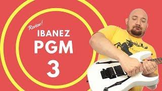 13# Ibanez PGM 3 com DiMarzio Evolution - Review width=