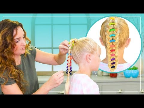 How to Create a Banded Ponytail | by Mindy McKnight