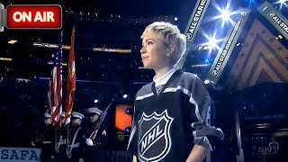 Carly Rae Jepsen - O Canada LIVE at LA NHL All-Star Game 2017