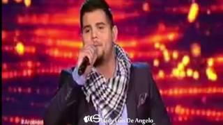 عرب ايدول أمير دندن موال و ميدلي فلسطيني مرحلة النصف نهائيات Arab idol 2016