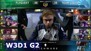 FLY vs TL   Week 3 Day 1 S9 LCS Spring 2019   FlyQuest vs Team Liquid W3D1