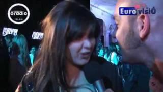 ESC2009 Portugal Daniela Varela Flor de Lis Portugal Opening Ceremony Eurovision 2009 Moscow