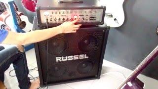 Demo amplifier RUSSEL STORM 100 HEAD CABINET by Rheka Musicshop