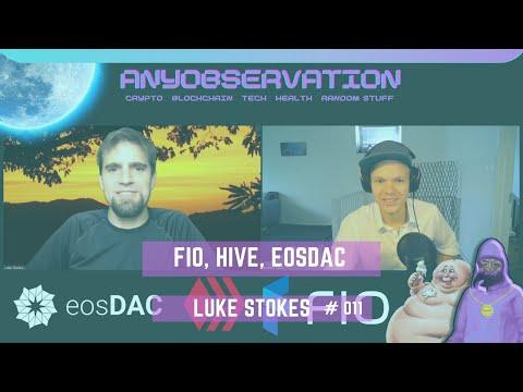 Anyobservation | #011 | Luke Stokes | FIO, Hive, DAC factory & EOSDAC