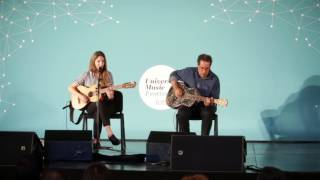 Luisa Sobral en el Universal Music Festival