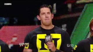 WWE RAW 07/12/10 - John Cena and The Nexus Segment