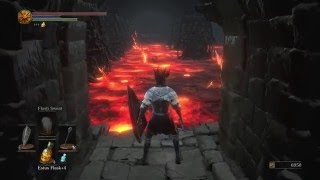 How to walk in lava in Demon Ruins - Dark Souls 3