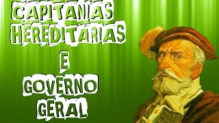 CAPITANIAS  E GOVERNO GERAL PARA O ENEM (História do Brasil) Aula #2 width=