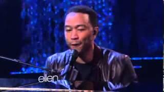 John Legend Performs 'All of Me' {The Ellen DeGeneres Show}