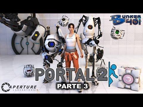 Portal 2 (2011)(Valve)(PC) | Parte 3 | Longplay | Retro