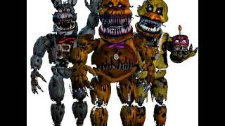 Fnaf song nightmare bonnie chica and fredbear