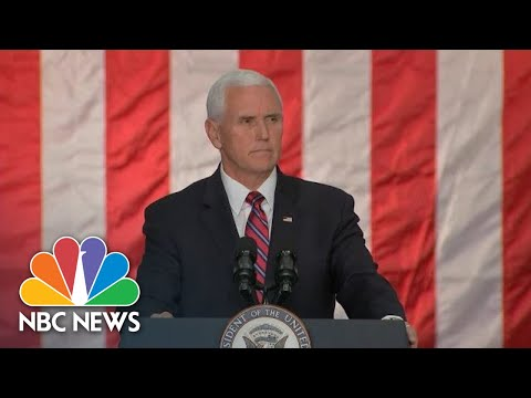 Pence To Victims Of The Santa Clarita Shooting: 'Our Prayers Are With You' | NBC News