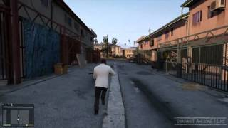 GTA V Fancy Taxi Driver is an Epic Sniper Against Crime