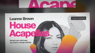 Leanne Brown House Acapellas - Vocal Samples & Loops