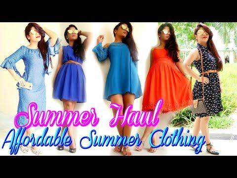 Summer Clothing Haul Affordable Fashion Clothing Rosegal HAUL |SuperPrincessjo