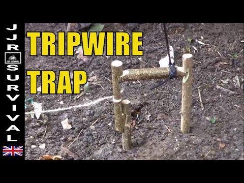 trip wire poachers trap