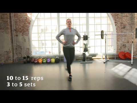 Harjoitusohjelma jaloille - ELIXIA