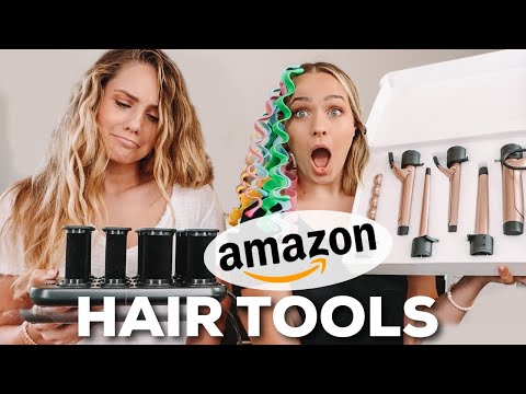 Testing out MORE weird hair tools from AMAZON … this took a turn – Kayley Melissa