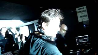 Carl Cox & Laurent Garnier @ Rexclub_the man with the red face
