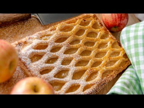 ЯБЛОЧНЫЕ СЛОЙКИ ? ПИРОГ ? вкусный простой десерт с яблоками | французская выпечка Grillé aux Pomme