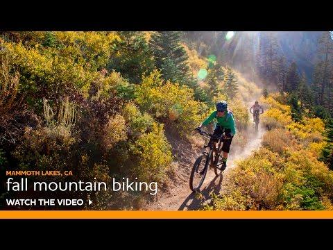 Mountain Biking Hotspots for Fall Color by Expert Rider -- Luke Wynen