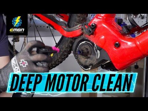 How To Deep Clean An EMTB Motor | E Bike Motor Deep Clean