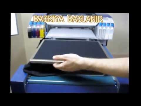 Dikili T-Shirt Dijital Baskı Makinesi POWERJET 1 / Digital T-Shirt Printer