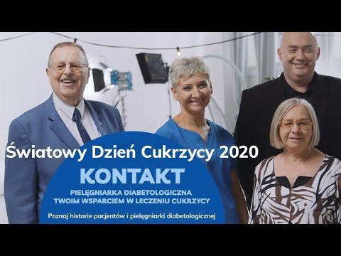 KONTAKT - Pielęgniarka diabetologiczna wsparciem w chorobie - Światowy Dzień Cukrzycy 2020
