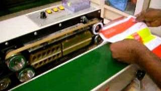 Continue Bag Sealing Machines Demo Videos By packpoint