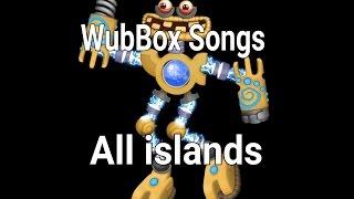MSM - WubBox songs in ALL ISLAND (Full Song)