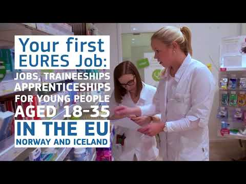 Your first EURES Job – Easier to work in Europe. Three young people share their experiences photo