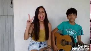 COVER FLOR E O BEIJA FLOR (HENRIQUE E JULIANO PART. MARÍLIA MENDONÇA) JEFFERSON E CRISLAYNE