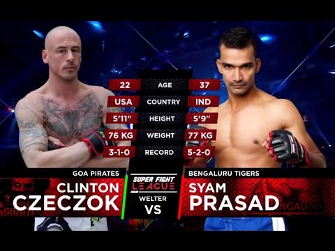Clint Czeczok v/s Shyam Prasad | Goa Pirates v/s Bengaluru Tigers