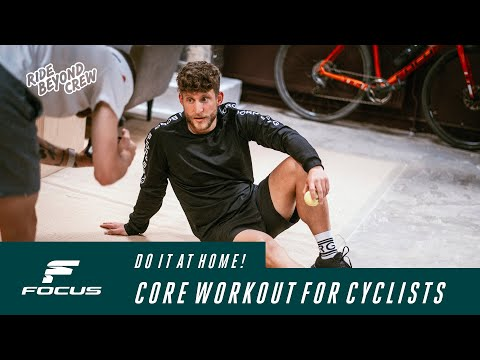Core strength for cyclists - The 30 MIN workout at home with the Ride Beyond Crew