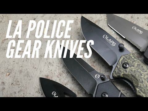 Overview: 9 Different LA Police Gear Folding Knives - Budget-Friendly, Various Sizes