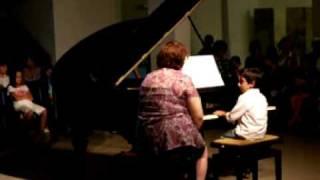 """Audição de Piano do Bruno - """"O Cuco Canta"""" (13 de Julho de 2010)"""