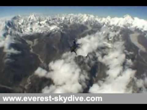 Everest Skydive 2009 video
