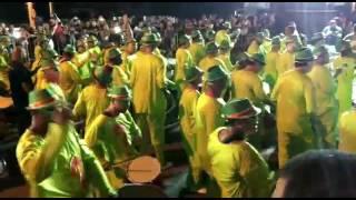 Bateria da Império Lapeano no desfile de 2017
