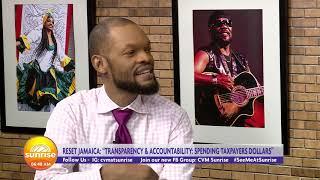 Transparency & Accountability: Spending Tax Payers Dollars | Sunrise: Rest Ja | CVMTV