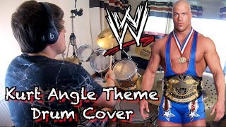 WWE - Kurt Angle's Theme - Drum Cover by Ciaran Fletcher HD