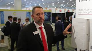Intersolar North America: Solaredge's Three Phase Inverter with Synergy Technology