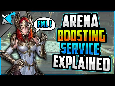 ARENA BOOSTING SERVICE !? | What We Know...What Can We Do ? | RAID: Shadow Legends