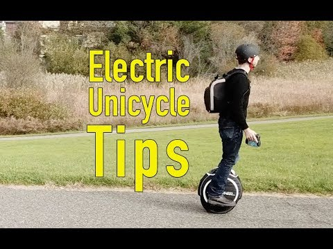 Tips to learn to ride an electric unicycle