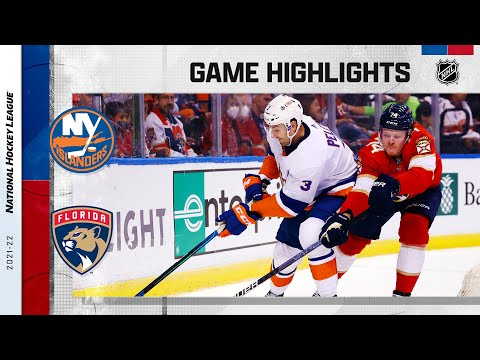 Islanders @ Panthers 10/16/2021 | NHL Highlights