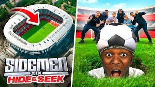 SIDEMEN HIDE & SEEK IN A FOOTBALL STADIUM